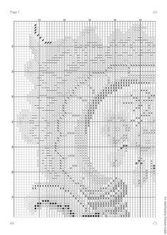 """Купить Схема вышивки """"Басня Лафонтена"""" - схема для вышивки, схема для вышивки крестом, схема вышивки"""