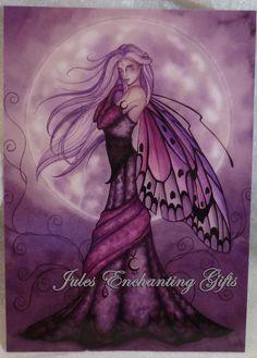 Silver Moon - 5 x 7 Fairy Art Print