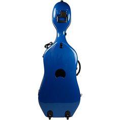 @>>  Bam 1002NW Newtech Cello Case with Wheels Ultramarine Blue