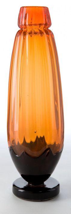 Schneider Glass Filettes Vase