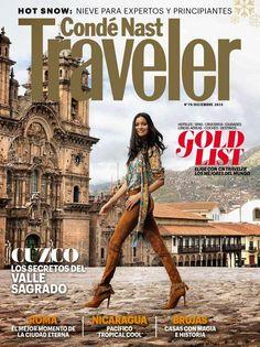 Conde Nast Traveler December 2014 Cover (Conde Nast Traveler) Spas, Magazine Stand, Weekend Breaks, Travel Magazines, Most Beautiful Beaches, Travel Aesthetic, Magazine Design, Day Trips, Travel Photos