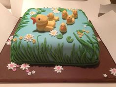 All You Need Is Cake. Duck pond cake
