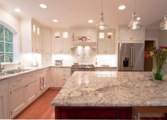 White Spring granite is a durable granite with the illusion of movement with its varying veining of whites, grays and deep reds. We recommend White Spring for interior and exterior projects including flooring, countertops, landscaping and wall applications.  #whitespringgranite #whitespringcountertop #naturalstone #whitespring #whitegranite #granitekitchen #granitecountertop #kitchendesign #kitcheninterior #kitchenstyle #kitchendecor #kitchenideas #kitchenlove #kitchenwithsoul #kitchenideas