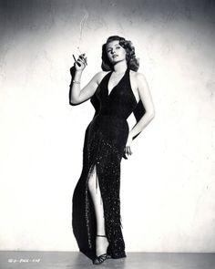 "Rita Hayworth 1952 ""Affair In Trinidad"" -Photo by Coburn"