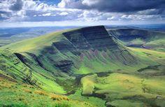 Picws Du, The Black Mountain