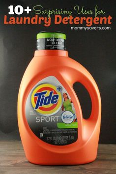 10 Other Uses for Laundry Detergent Did you know that there are several other uses for laundry detergent besides cleaning clothes? Grocery stores offer great deals on laundry detergent all the tim...