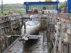 Alfa class.  Russian submarine project 705.