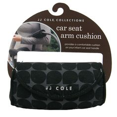 Padded Car Seat Arm Cushion by JJ Cole Collections | Designer Maternity Clothes and Baby Gear Available at Due Maternity & Baby www.duematernityandbaby.com