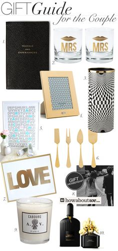 MadeByGirl: Gift Guide: For the Couple
