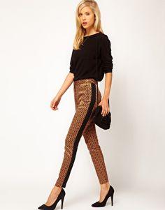 ASOS Geo Print Trousers