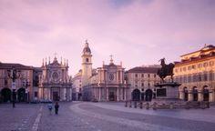 Turin, Italy. Piazza San Carlo
