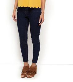 Petite 28in Navy Skinny Jeans | New Look