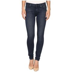 Paige Verdugo Ultra Skinny in Shelby (Shelby) Women's Jeans ($189) ❤ liked on Polyvore featuring jeans, skinny fit jeans, stretch skinny jeans, super stretch jeans, 5 pocket jeans and mid-rise jeans
