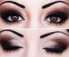 prettiest smokey eye i've ever seen!