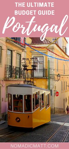 Portugal is a country blessed with excellent sandy beaches, rugged coastline, cosmopolitan and architecturally-stunning cities, and incredible weather. Travel Money, Budget Travel, Travel Europe, Travel Advice, Travel Guides, Travel Tips, Countries Of The World, Eu Countries, European Countries