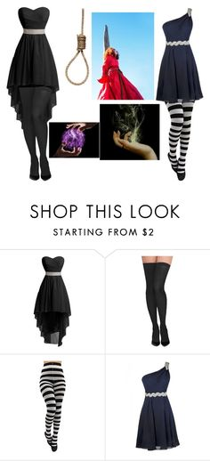 """""""Burn/Hang the witch!"""" by gamerixi ❤ liked on Polyvore featuring Commando"""