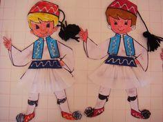Λουλουδοπαρέα : 25η Μαρτίου !!!! National Days, Picts, Arts And Crafts, Felt, Princess Zelda, Activities, Embroidery, Paper Boats, Fictional Characters