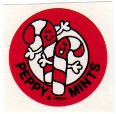 Scrtch n' Sniff Stickers - PEPPERMINT