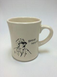 Great Scott! Back to the Future ceramic pottery mug