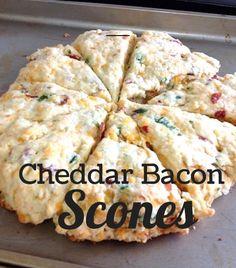 Cheddar Bacon Scones