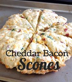 Cheddar Bacon Scones