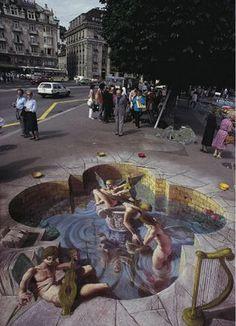 Artist Edgar Mueller   NAVIO DEL ARTE: EDGAR MUELLER- ILUSIONISTA DEL VERTIGO