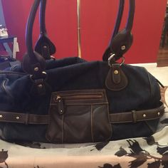Purse Very cute denim purse Liz Claiborne Bags Shoulder Bags