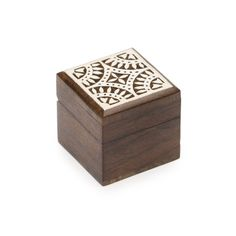 Aashiyana Wood Box - Star - Fair Trade - #fairtrade #shopfairtrade #thisbluesea  Small wooden box intricately carved and painted with a lovely white finish. measures 2 by 2 inches.Meet the ArtisansMATR BOOMIE is a fair trade collection from India that marries modern design sensibility with inspiring traditional art forms, bringing people and cultures closer together. With the mission of creating opportunities for women and minorities to realize their creative, economic…