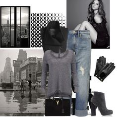 """Cozy on New York"" by valentinajoanna on Polyvore"