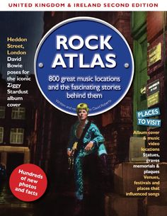 Rock Atlas UK and Ireland - second edition. Limited Print Hardback available now (and perfect for a #Christmas Gift)