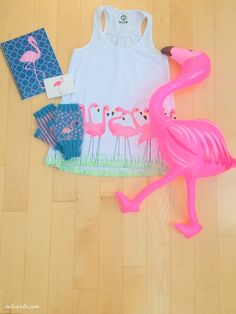Buy your bestie the most adorable pink flamingo products for Christmas!   Belle Brita