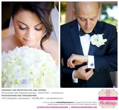 Featured Real Wedding: Anna & Juan is published in Real Weddings Magazine's Summer/Fall 2015 Issue! Participating vendors include: www.vwpvideophoto.com and www.winerose.com. For more photos and their full list of wedding vendors, visit: www.realweddingsmag.com/?p=52431