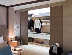 Elegancia y diseño para el orden, con el nuevo vestidor de Gamadecor