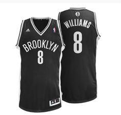 Brooklyn Nets Road Swingman Jersey - Deron Williams.     Available at nbastore.eu