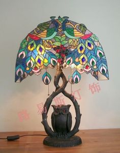 Peacock Living Room Decor | ... living room table lamp from Reliable lamps for living room suppliers
