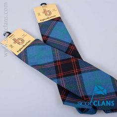 Pure wool tie in Home / Hume Ancient tartan - from ScotClans