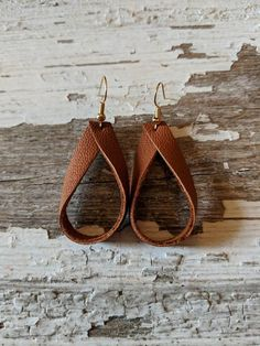 Check out this item in my Etsy shop https://www.etsy.com/listing/609638849/earringsleather-loop-earringssimple