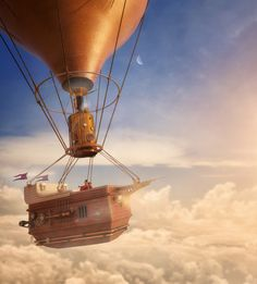 Steampunk thought by Alexandre Trevisan, via Behance