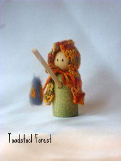 Autumn Lantern Child  Martinmas  Waldorf by TheToadstoolForest