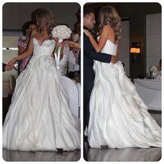real weddings nick rosa j 39 aton couture wedding