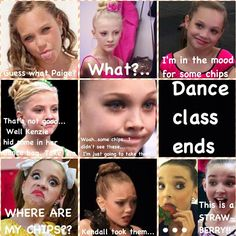 dance moms Actually guys Kenz isn't really obsessed with chips in fact she doesn't really eat them that much she just thinks there good:)