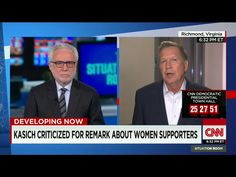 """Endorse This: Kasich Says 'Of Course' — Anybody Would Be Offended By Me!  The Ohio governor and underdog Republican presidential candidate appeared on CNN last night, in order to clarify his statement earlier that day praising the women """"who left their kitchens"""" to campaign for him in his first run for public office in the 1970s...  Read more:  http://www.nationalmemo.com/endorse-this-kasich-says-of-course-anybody-would-be-offended-by-me/"""