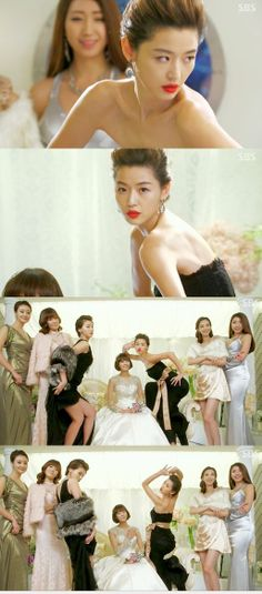 "Lol :D this is a funny scene! Who poses like that next to the bride? ""You who came from the stars"" KDrama"