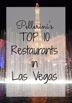 Top 10 Restaurants in Las Vegas - Planning vacations is a fun but tedious task.  Hotels, things to do, transportation, food - all important parts of a successful trip! If you're planning a trip to Vegas, check out my 10 favorite restaurants!