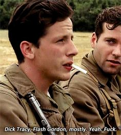 Eion Bailey, Tv Band, We Happy Few, Band Of Brothers, Wwii, Tv Shows, Lol, Guys, Soldiers