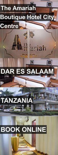 The Amariah Boutique Hotel City Centre in Dar Es Salaam, Tanzania. For more information, photos, reviews and best prices please follow the link. #Tanzania #DarEsSalaam #travel #vacation #hotel