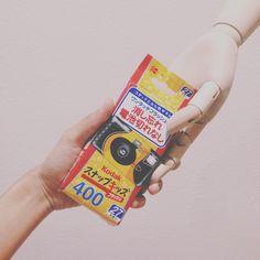 Kodak one way use iso400 from Japan.