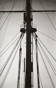 Hans Finsler, Untitled (Mast), 1929.