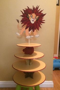 Lion King Party decor made and sold by on ig and its-my-party-bou. Lion King Birthday, 1st Boy Birthday, 1st Birthday Parties, Birthday Ideas, Lion Party, Lion King Party, Lion King Theme, Lion King 1, Lion King Cupcakes