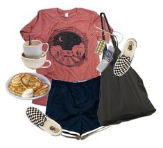 """""""sing me to sleep --tag"""" by kampow ❤ liked on Polyvore featuring moda, Laneus, Benetton y Vans"""